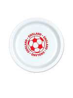 "England Football 9"" Plate ( 8 plates per pack)"