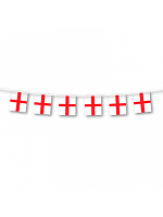 England St George Bunting 6m 20 flags
