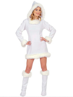 Eskimo Girl White Costume