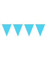 Bunting Blue Lt 10m with 15 Flags
