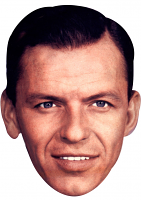 Frank Sinatra Mask