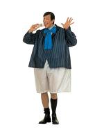 Fat Schoolboy Costume (Wire Hoop Jumpsuit Jacket Bowtie)