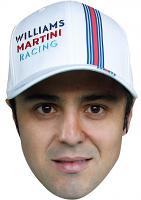 Felipe Massa Cap Mask