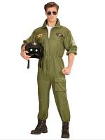 Fighter Jet Pilot Man