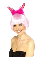 Flashing Willy Headboppers Fuchsia With Marabou (Pack Of 1)