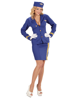 Flight Attendant (Jacket Skirt Sidecap)