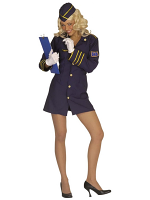 Flight Attendant Costume (Dress Hat)