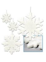 Fluffy Snowflakes Asstd