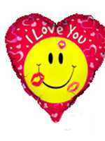 Foil Balloon 'I LOVE YOU'