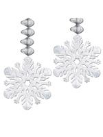 Foil Snowflake Danglers