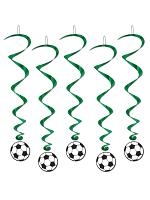 Football Ball Hanging whirls (pack of 5 whirls)