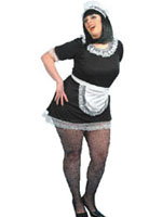 French Maid XL Costume Dress, Sizes 16 to 18