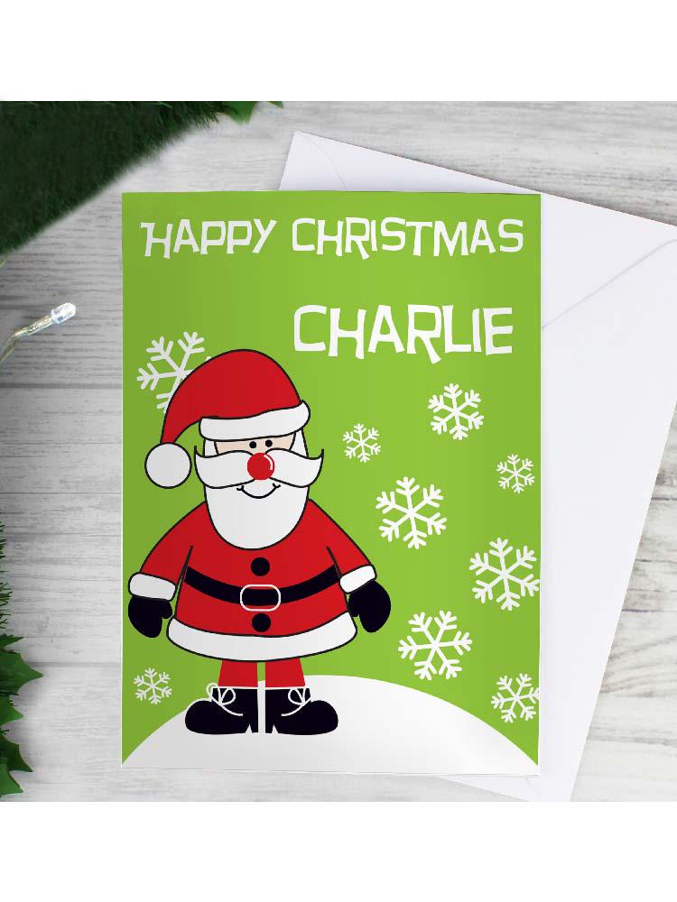 Personalised Santa Card