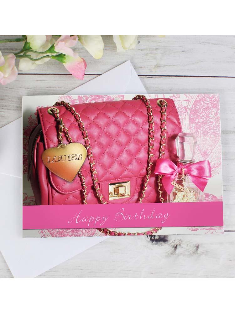 Personalised Handbag Card