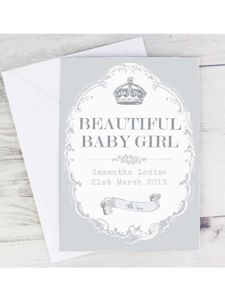 Personalised Royal Crown Card