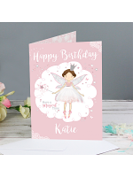 Personalised Fairy Princess Card
