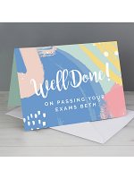 Personalised Well Done! Card