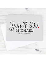 Personalised You'll Do Card