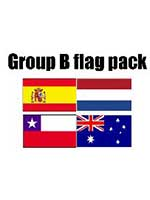 GROUP B Football World Cup 2014 Flag Pack (5ft x 3ft)
