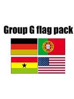 GROUP G Football World Cup 2014 Flag Pack (5ft x 3ft)