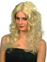 Glamour Wig - Blonde Long Curls (Quantity 1)