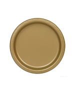 "Gold 9"" Paper Plates (PK 8)"