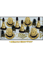 Gold Midnight New Years Eve Pack For 50 People