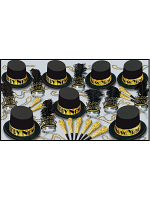 Gold Top Hat New Years Eve Pack For 50 People