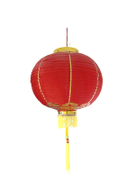 Good Luck Lanterns With Tassels