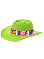 Groovy Plastic Cowboy Hat
