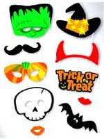 Halloween Photo Booth Kit