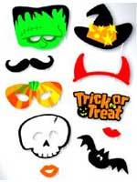 Halloween Photo Booth Kit
