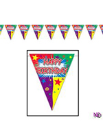 Happy Birthday Pennant Bunting
