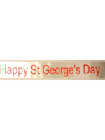 Happy St George's Day Sash