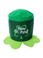Happy St Patrick's Day Felt Topper Hat