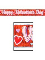 Happy Valentine's Day Fringe Banner