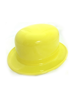 Bowler Plastic Hat Yellow