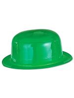 Bowler Plastic Hat Green