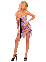 Hawaiian Costume Lilac