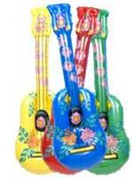 Hawaiian Design Inflatable Guitar