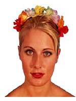 Hawaiian Flower Alice Band
