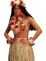 Hawaiian Lei Garland Luxury Multi Set