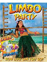 Hawaiian Limbo Deluxe Bar Game Real Bamboo With CD