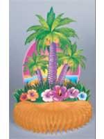 Hawaiian Tropical Island Honeycomb Centerpiece (1)