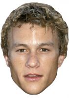 Heath Ledger Young Face Mask