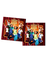 High School Musical Party Napkins