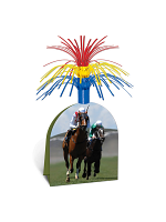 "Horse Racing Centerpiece 13"""