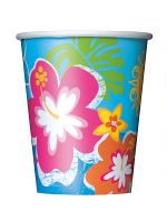 Hula Beach Party Cups 9""