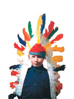 Indian Chief Headdress (Suitable For Both Children And Adults)(1)