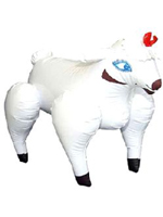 Inflatable Bonking Sheep